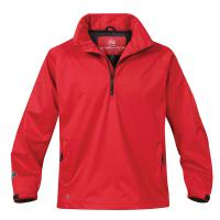 Hotlis Women's Barrier 1/4 Zip Windshirt - Navy & Sport Red only