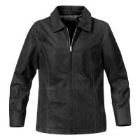Hotlist Women's Classic Distressed Jacket - Black only