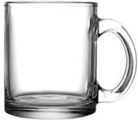 Clear coffee mug 350 ml / 12 oz