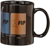 Black mug 285 ml / 11 oz