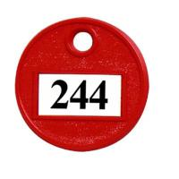 "Self Number Tags - 1 1/2"" dia."