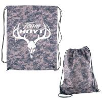 Digital Camouflage RPET Drawstring Cinch-Up Backpack
