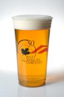 32 oz. Clear Plastic Cups - soft sided