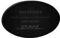 "Black Oval Paperweight 3/8"" Acrylic (2 1/2"" x 4"") Laser Engraved"