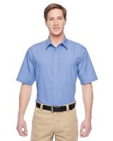 Harriton® Men's Advantage Snap Closure Short-Sleeve Shirt