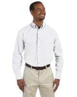 Harriton® Men's 3.1 oz./yd2 Essential Poplin