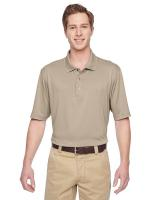 Harriton® Men's Advantage IL Snap Placket Performance Polo