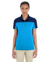 CORE365TM Ladies' Balance Colourblock Performance Piqué Polo