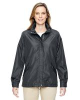 North End® Ladies' Excursion Transcon Lightweight Jacket with Pattern