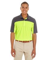 CORE365TM Men's Balance Colourblock Performance Piqué Polo