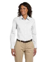 Harriton® Ladies' 3.1 oz./yd2 Essential Poplin