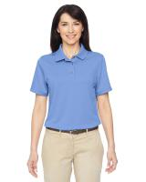 Harriton® Ladies' Advantage IL Snap Placket Performance Polo