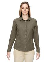 North End® Ladies' Excursion Utility Two-Tone Performance Shirt