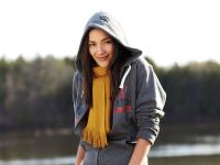Huron fleece full zip hoody (women, blank)