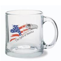 Clear Glass Mug - 13oz.