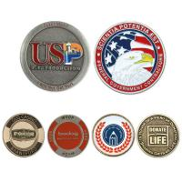 "Custom Pewter Finish Coin (Up to 1.5"")"