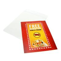 "2 3/4""x3 3/4"" Pouch Insert Cards"