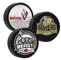 FULL COLOUR IMPRINTED HOCKEY PUCKS (One side)