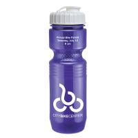 26 oz Jogger Bottle with Flip Top Lid - Solid Colors