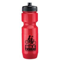 26 oz Jogger Bottle with Push Pull Lid - Solid Colors