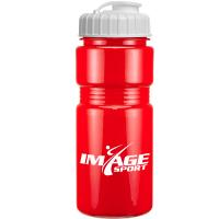 20oz Solid Recreation Bottle with Flip Top Lid