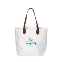WEXFORD LAMINATED COTTON TOTE