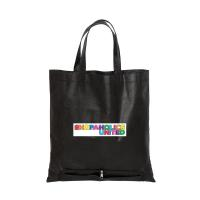 DAISY DAY NON WOVEN ZIPPERED FOLDING TOTE