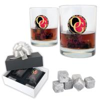 ICE ROCKS GLASS GIFT SET