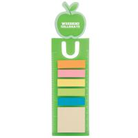 APPLE BOOK MARK WITH 150 STICKY NOTES