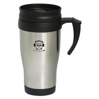 400 ML. (13.5 OZ.) STAINLESS STEEL TRAVEL MUG