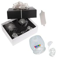 ROCKING GLASSES AND ICE ROCKS GIFT SET