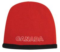 Roll Down Acrylic & Polar Fleece Toque