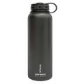 FiftyFifty Doubled Wall Insulated Matte Black Bottle-40oz - V40001BK0