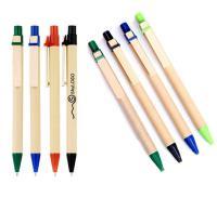 Recycled Paper Pens - White