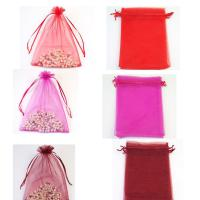 Organza Gift Bag - Red