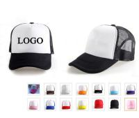 Foam Mesh Hat/Cap - White