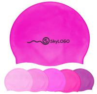 Silicone Swim Cap For Adult - Pink