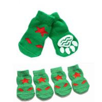 Pet Sport Socks 4PCS Set - Green