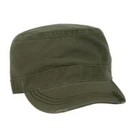 Deluxe Washed Chino Cotton Surplus Cap