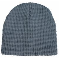 Thick Waffle Weave Knit Beanie