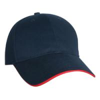 Constructed Light Weight Brushed Cotton Twill Sandwich Cap