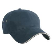 Constructed Mid Weight Brushed Cotton Twill Cap
