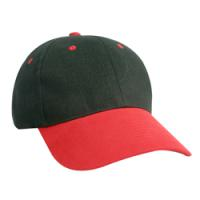 Constructed Heavy Brushed Cotton Twill Cap