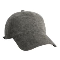 Constructed Distressed Heavy Weight Washed Brushed Canvas Cap