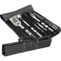 BBQ Stainless Steel Carry Set