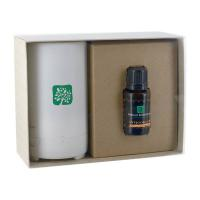 Electronic Diffuser with 15mL Dropper Bottle Essential Oil in Gift Box