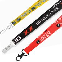 "3/4"" Recycled Heat Transfer Lanyard - Ocean Shipping"