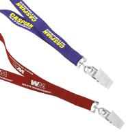 "1/2"" Recycled Econo Lanyard - Ocean Shipping"