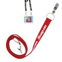 "3/4"" Recycled Econo Dual Attachment Lanyard - Ocean Shipping"