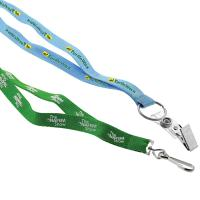 "1/2"" Recycled Screen Printed Lanyard - Ocean Shipping"